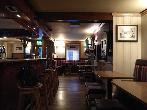 Maggie May's - nice place, tasty food.