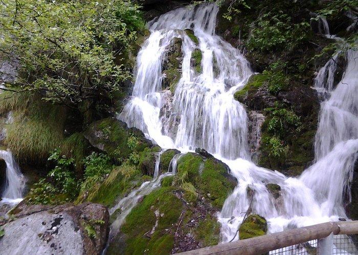 cascate rio bianco a stenico (TN)