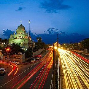 Gurudwara view in the evening