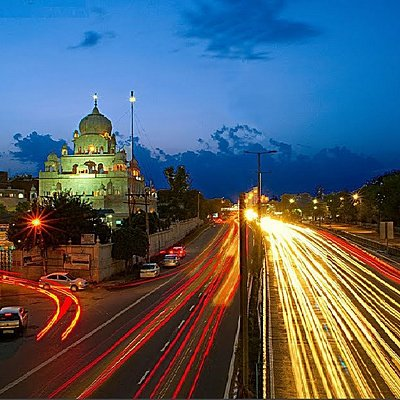 Gurudwara view in the evening