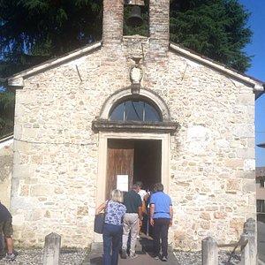Esterno della chiesetta