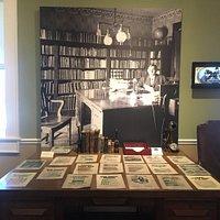 Ernest Cherrington's desk