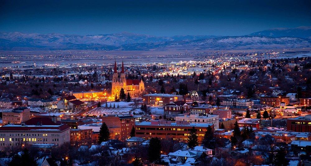 View overlooking Helena, Montana