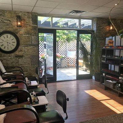 Pedicure & Manicure Area