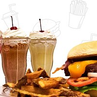 Lizzie Burgers, hand-cut fries, and shakes!