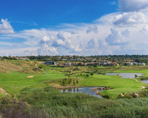 Spectacular view of the golf course