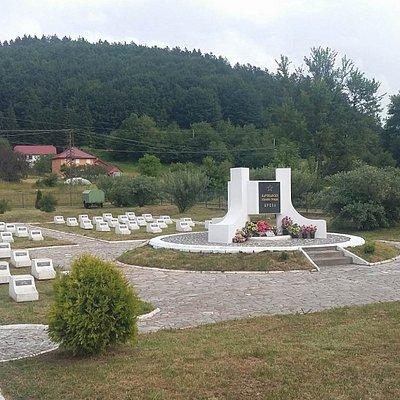 Partisan Memorial Cemetery at Breza