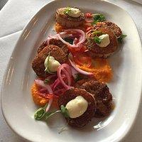 Appetizer scallops