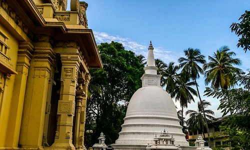 Blessed journey!  Bellanwila Raja Maha Vihara