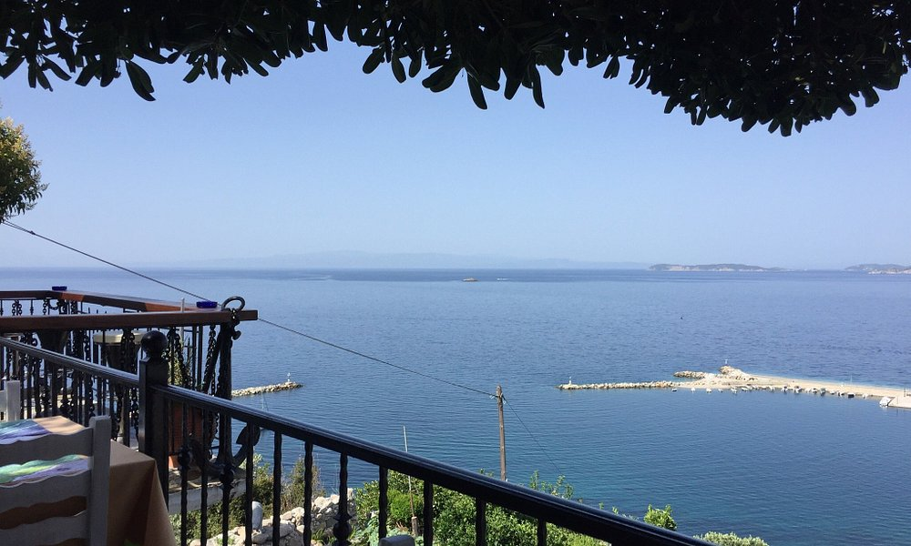 View from Aegean Wave Hotel