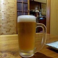 冷たいビールがたまりません