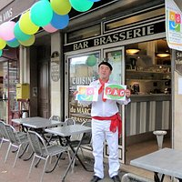 Le Bar du Marché,se met  aux couleurs du Pays Basque