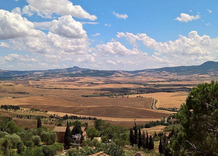 Panorama visto dal paese