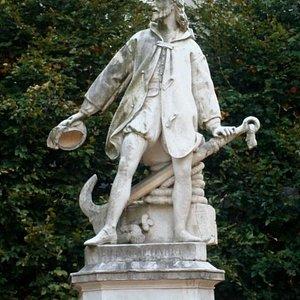 La statua di Cristoforo Colombo