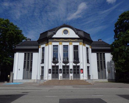 Facade of Vanemuise Vaike Maja (Small Theatre)