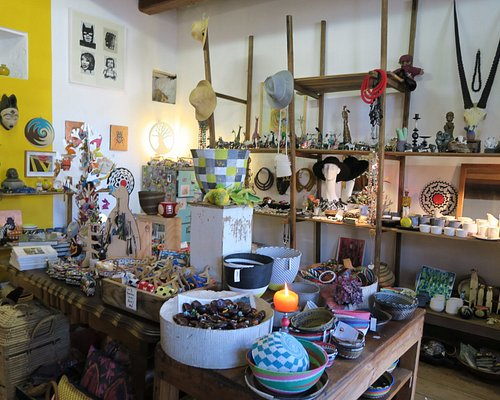 Candles, Jewelry, cards, keychains, and other novelty items