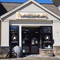 Adirondack Winery's Tasting Room on Canada Street in Lake George Village