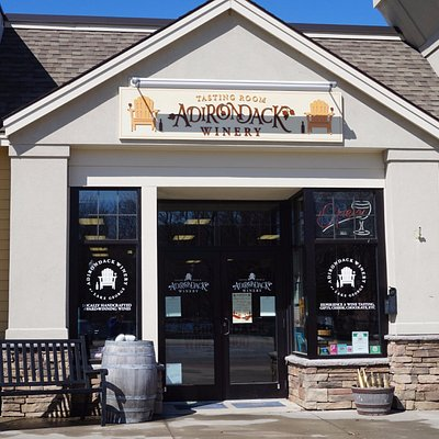 Adirondack Winery's Tasting Room on Canada Street in Lake George Village