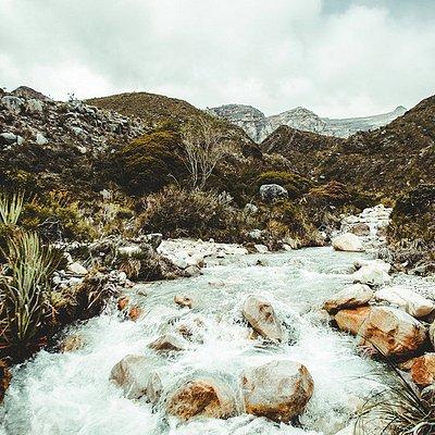 Los Ander - river