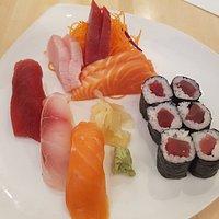 Sushi + Sashimi Combination