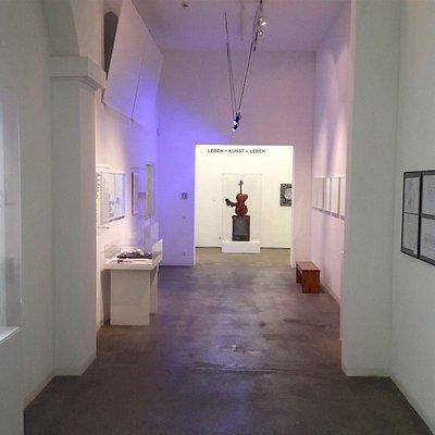 Eingangsbereich des museum FLUXUS+
