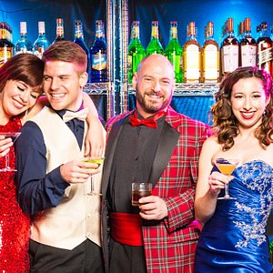 """""""The Imbible: A Spirited History of Drinking"""" at New World Stages"""