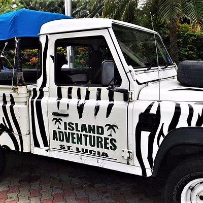 Island Adventures Open Back Landrover