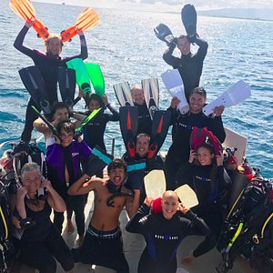 FINtastic day with our open water class!