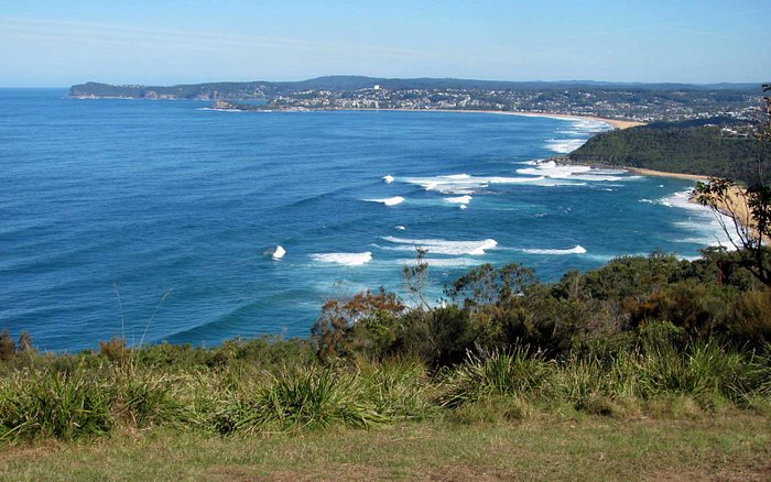 Wyrrabalong Lookout looking south... great spot for our picnic lunch