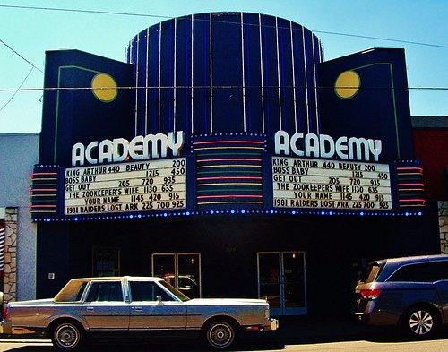 The Academy Theater in Montavilla area