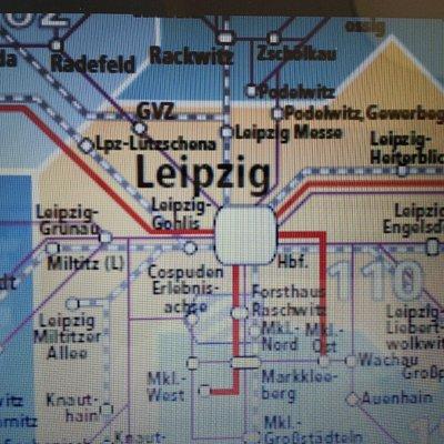 Leipzig Linienplan