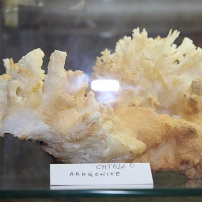 Museo del Minerale, aragonite