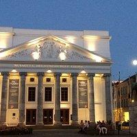 Das klassizistische Theater in Aachen