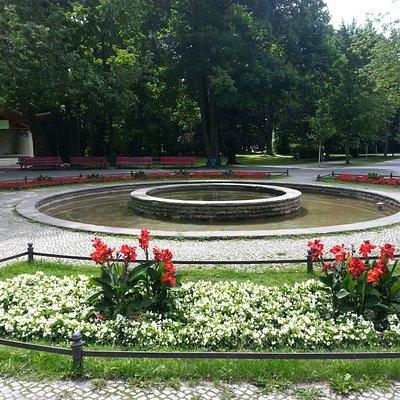 Brunnen im Stadtpark Steglitz