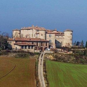 Vista complessiva del castello