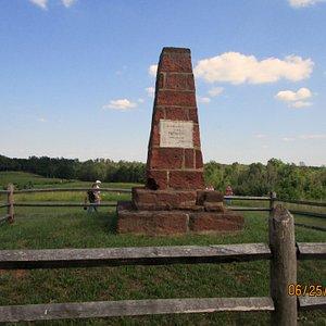 the sandstone monument