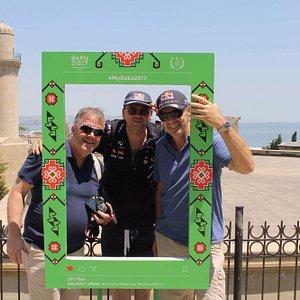 Our guests came to watch Formula1 and discover beautiful Baku! #Formula1 #adventurebaku #freewal