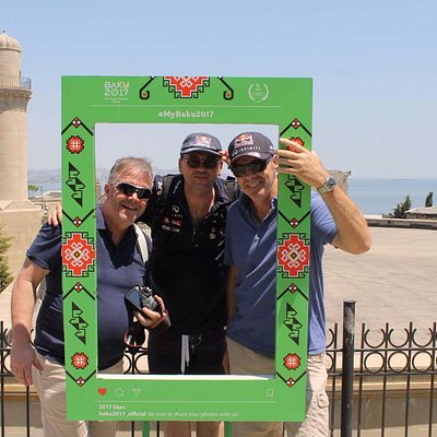 Our guests came to watch Formula1 and discover beautiful Baku! #Formula1 #adventurebaku #freewal