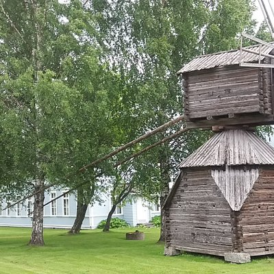 Local historical windmill (moved from Soukkala house).