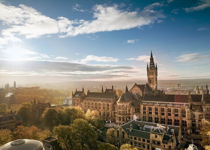 The University of Glasgow's main building