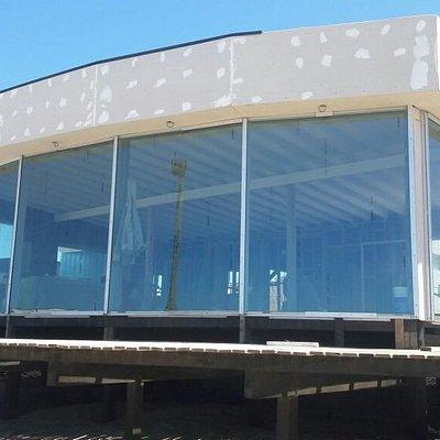 Balneario en construcción, se espera con muchas ansias su estreno, se ve moderno