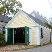 The NHA's Fire Hose Cart House is a reminder of the role the Great Fire played in Nantucket hist
