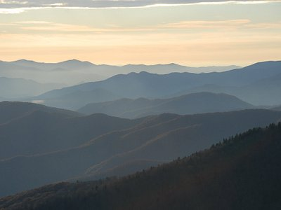 Why they call it The Blue Ridge