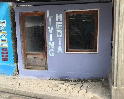 Front of Living Media Arts Shop