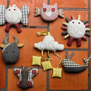 Soft Toys, made from naturally dyed, traditionally woven fabrics $6.00