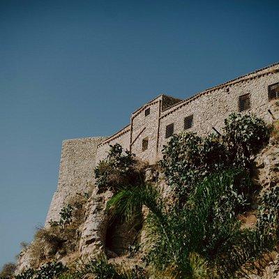 Vista panoramica del Castello Chiaramonte