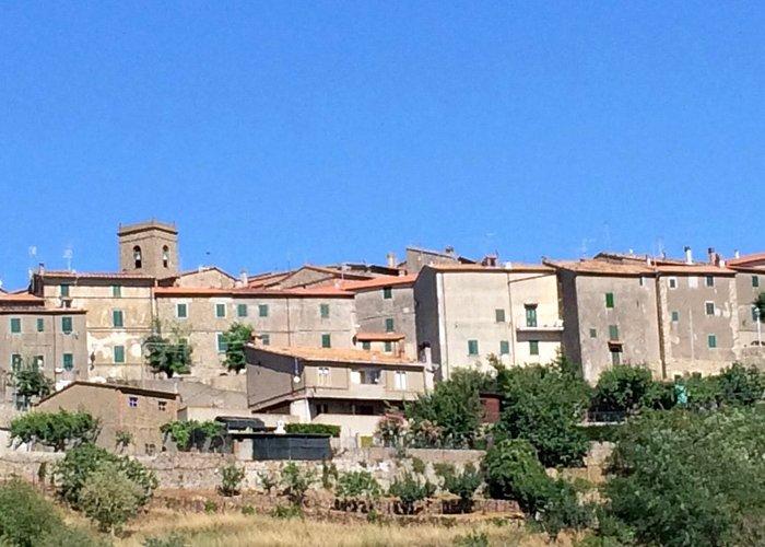 Foto panoramica di Vetulonia