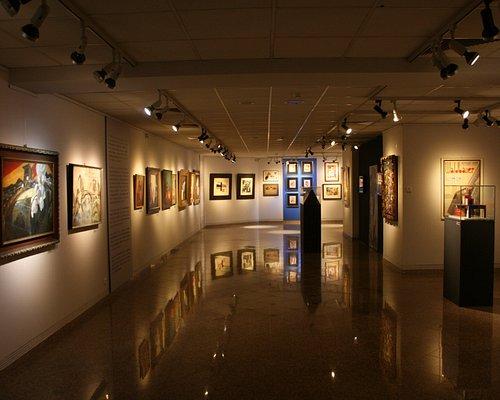 A Virág Judit Galéria és Aukciósház belülről