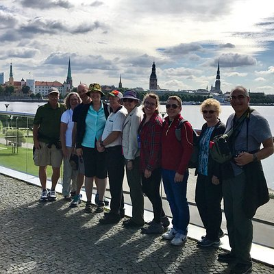 Our fun Grand Tour of Riga with guide Krista.