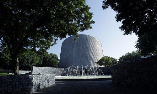 Fachada principal del museo del Planetario Alfa